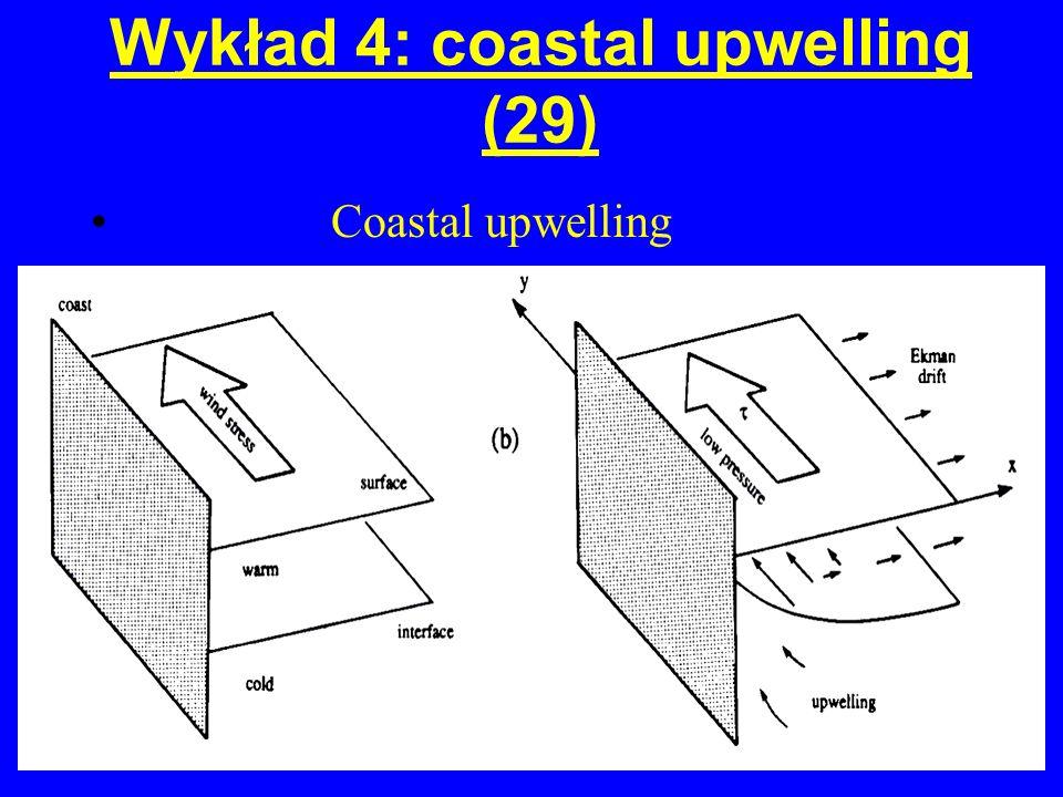 Wykład 4: coastal upwelling (29)