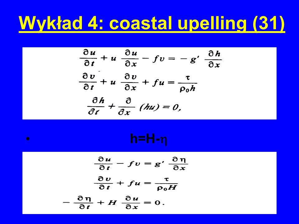 Wykład 4: coastal upelling (31)