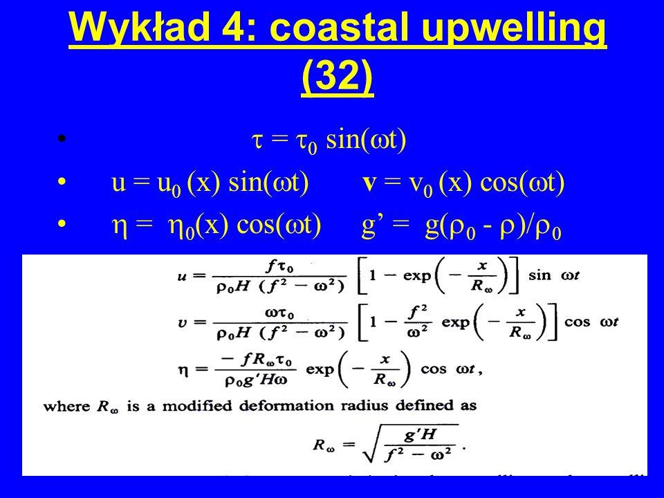 Wykład 4: coastal upwelling (32)