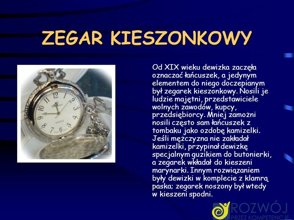 ZEGAR KIESZONKOWY