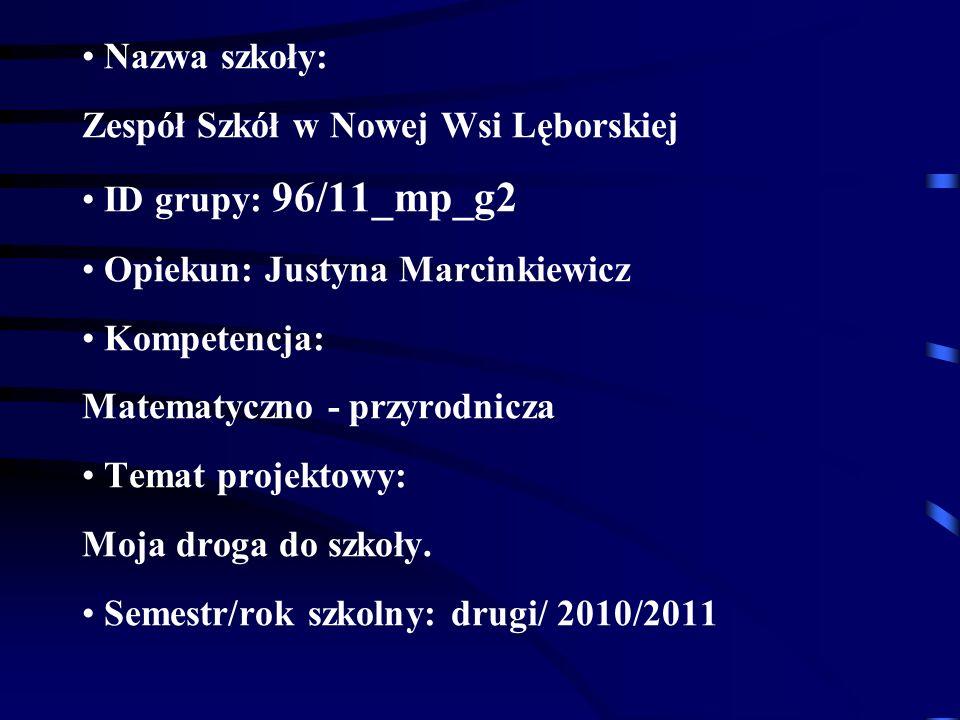 Zespół Szkół w Nowej Wsi Lęborskiej ID grupy: 96/11_mp_g2