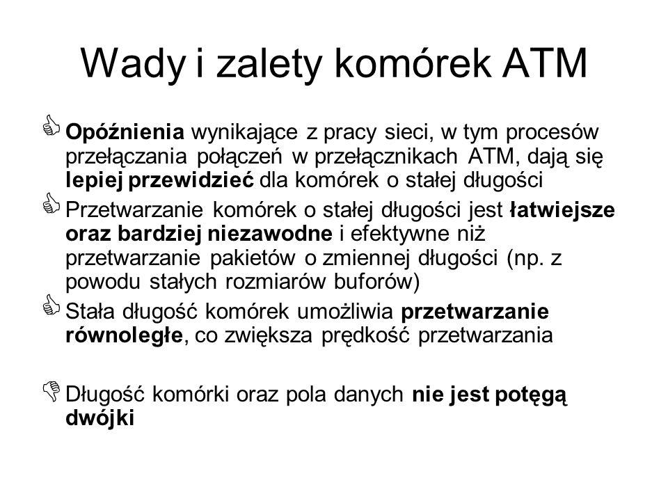Wady i zalety komórek ATM