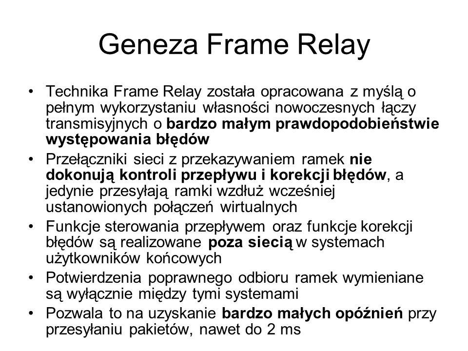 Geneza Frame Relay