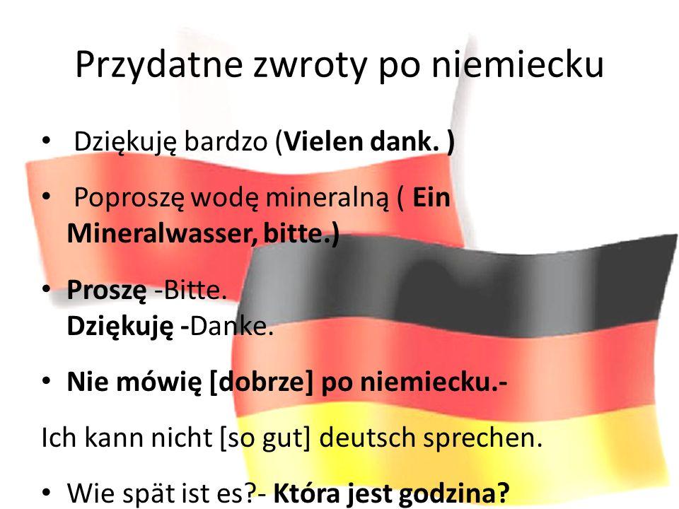 Przydatne zwroty po niemiecku