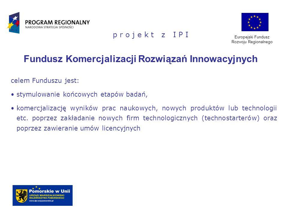 Fundusz Komercjalizacji Rozwiązań Innowacyjnych