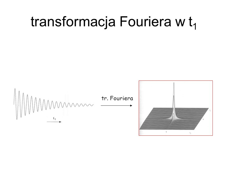 transformacja Fouriera w t1
