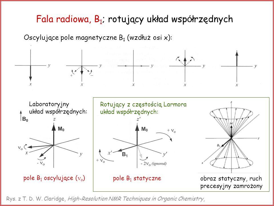 Fala radiowa, B1; rotujący układ współrzędnych