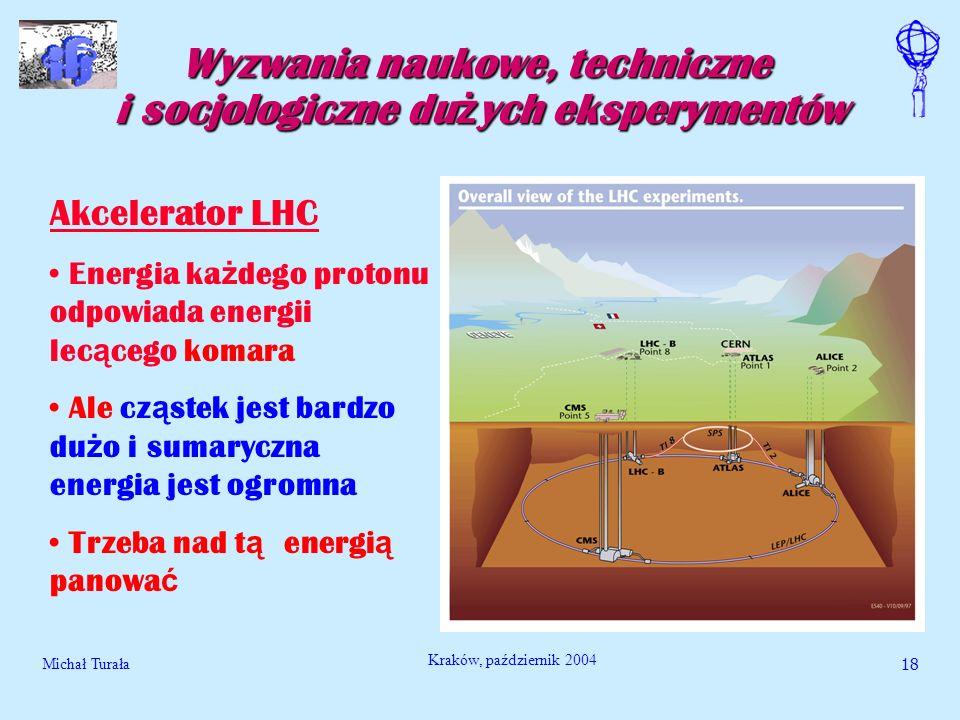 Wyzwania naukowe, techniczne i socjologiczne dużych eksperymentów