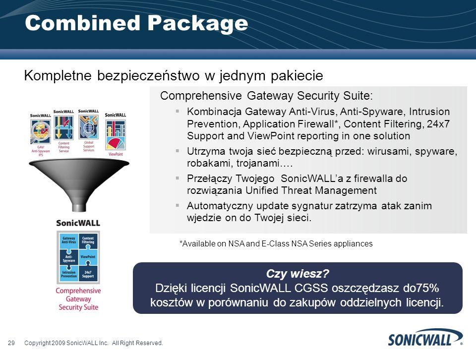 Combined Package Kompletne bezpieczeństwo w jednym pakiecie