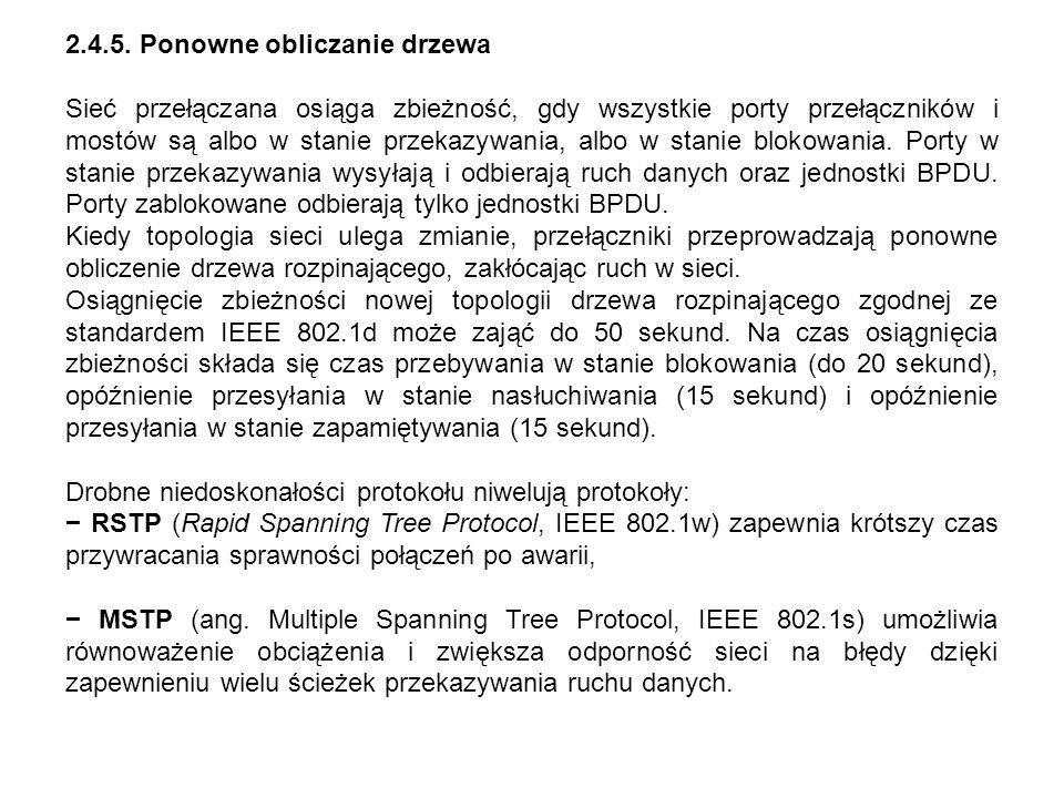 2.4.5. Ponowne obliczanie drzewa