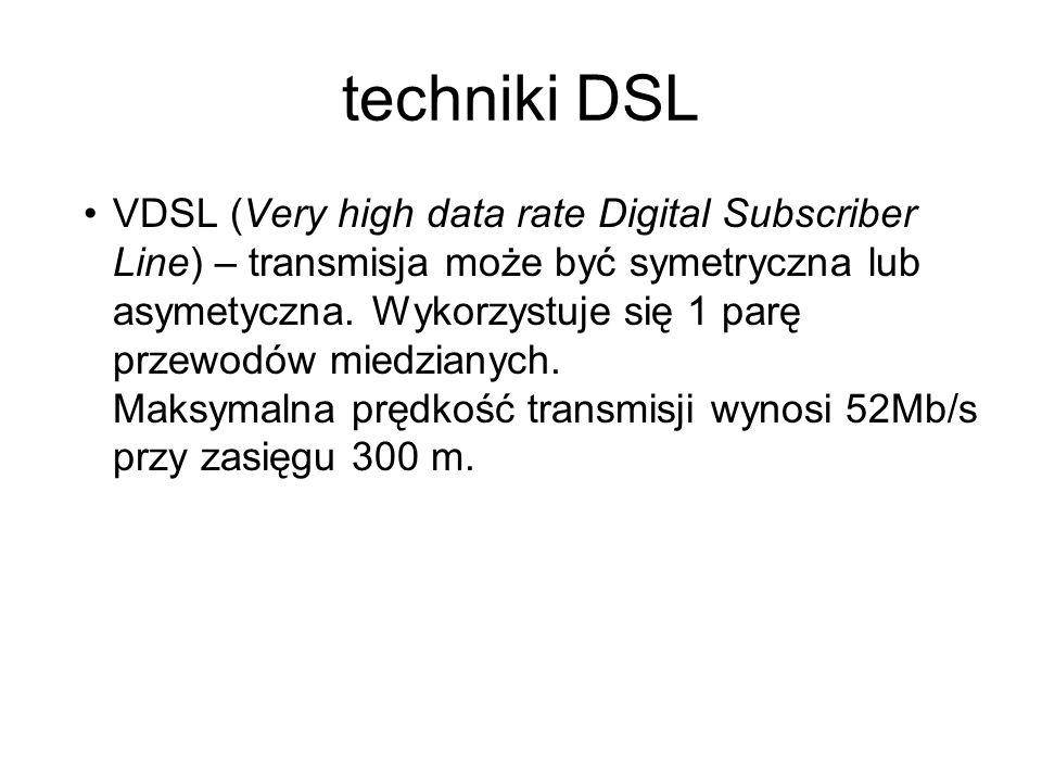 techniki DSL