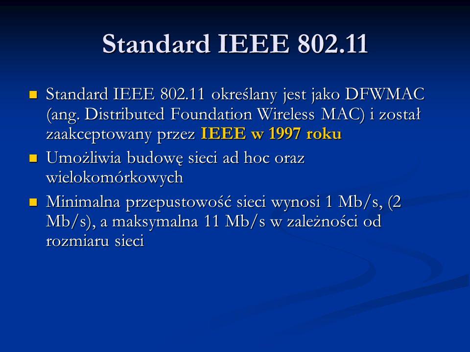 Standard IEEE 802.11