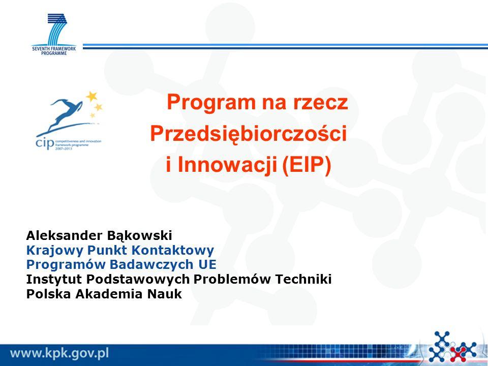Przedsiębiorczości i Innowacji (EIP)