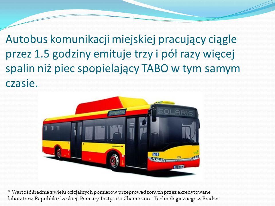 Autobus komunikacji miejskiej pracujący ciągle przez 1