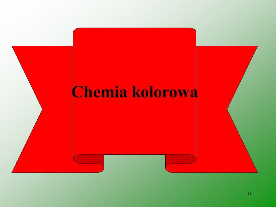 Chemia kolorowa