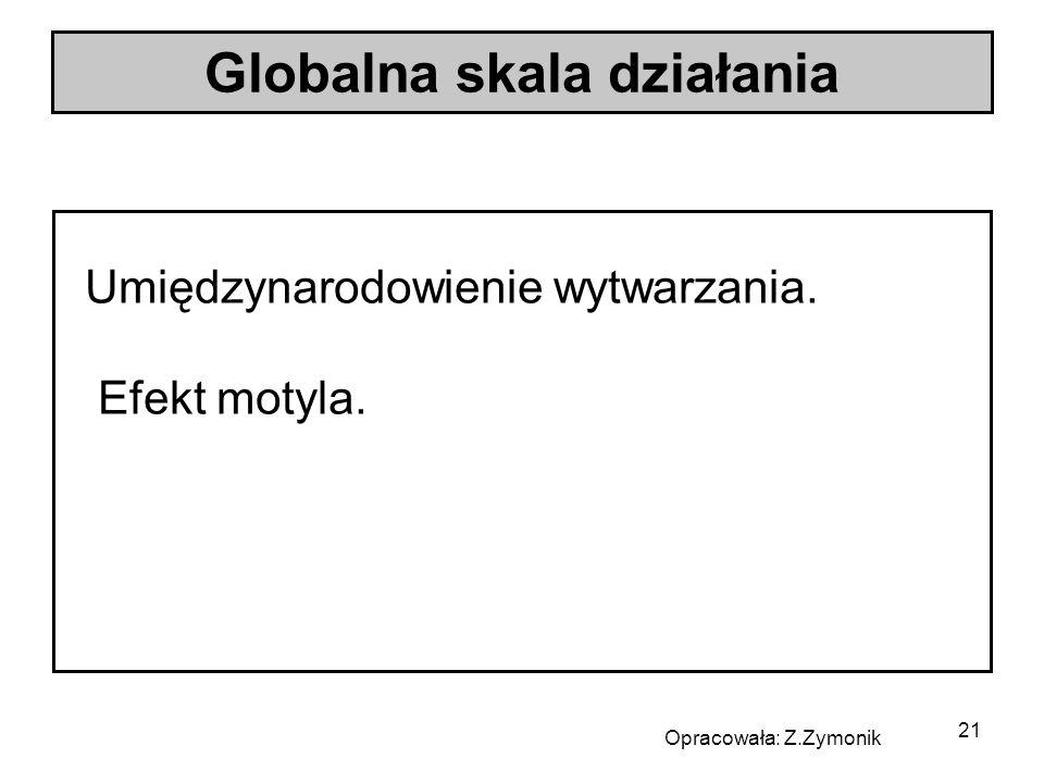 Globalna skala działania