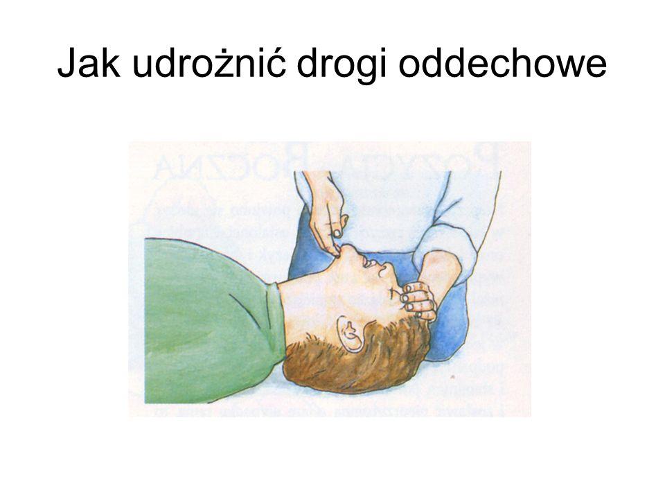 Jak udrożnić drogi oddechowe