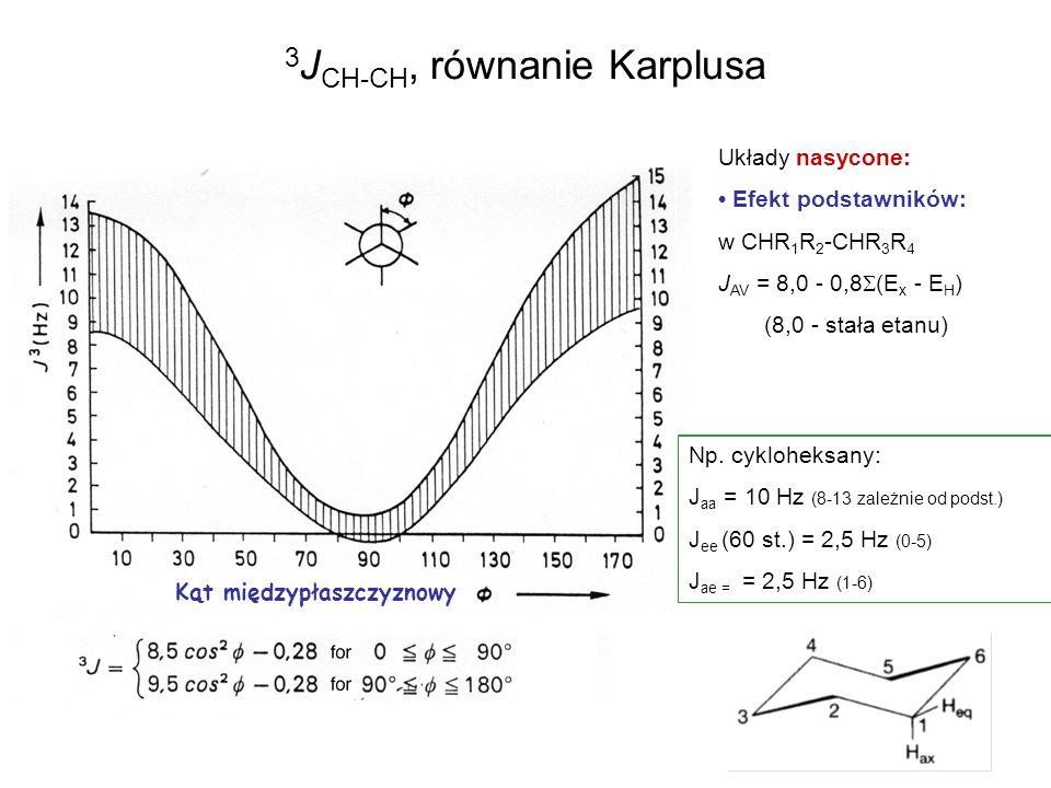 3JCH-CH, równanie Karplusa