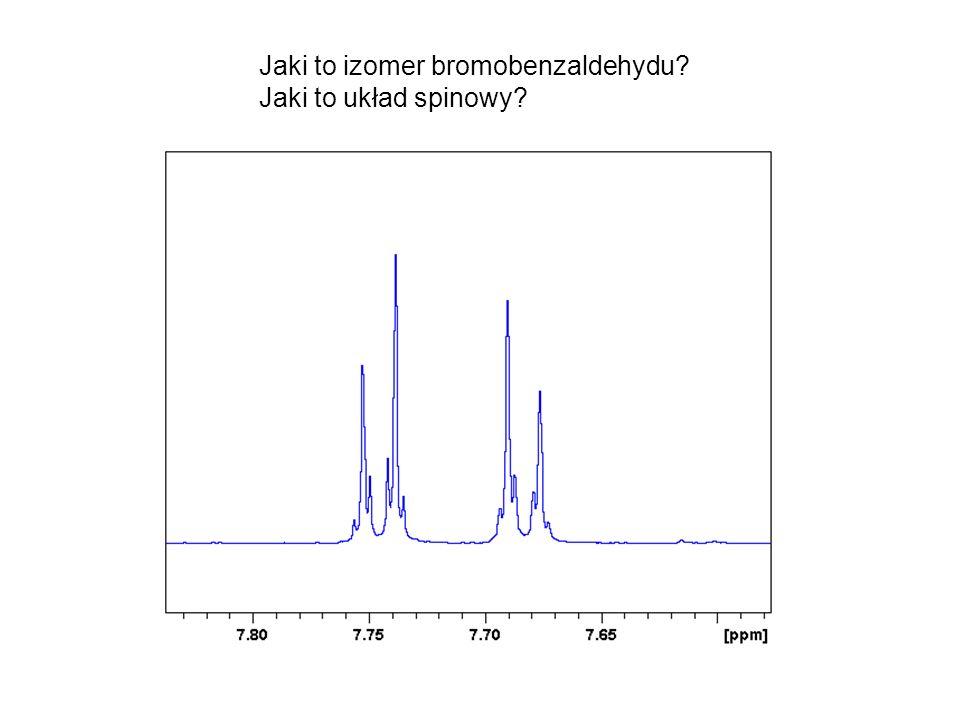 Jaki to izomer bromobenzaldehydu