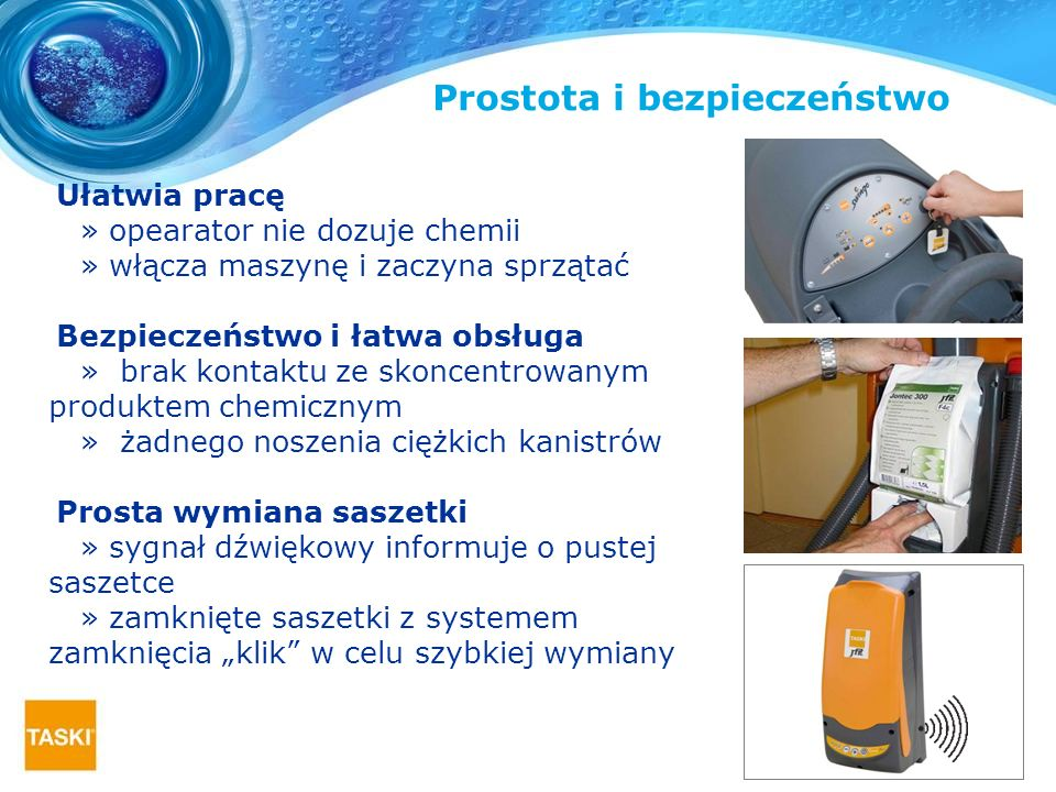 Prostota i bezpieczeństwo