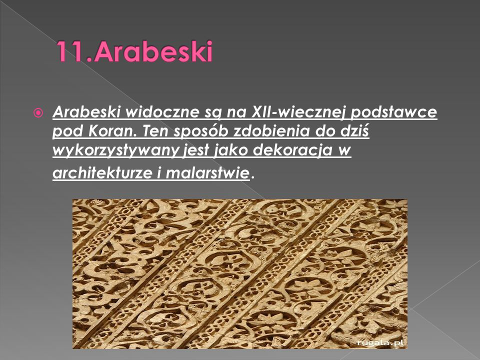 11.Arabeski