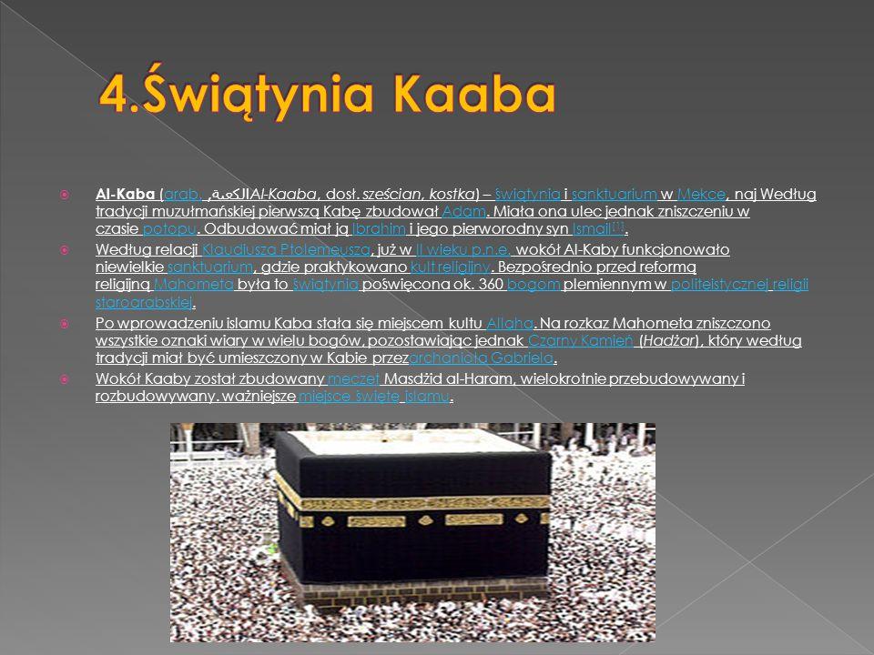 4.Świątynia Kaaba