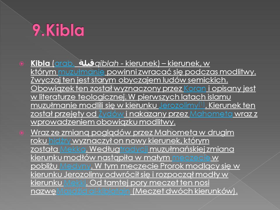 9.Kibla
