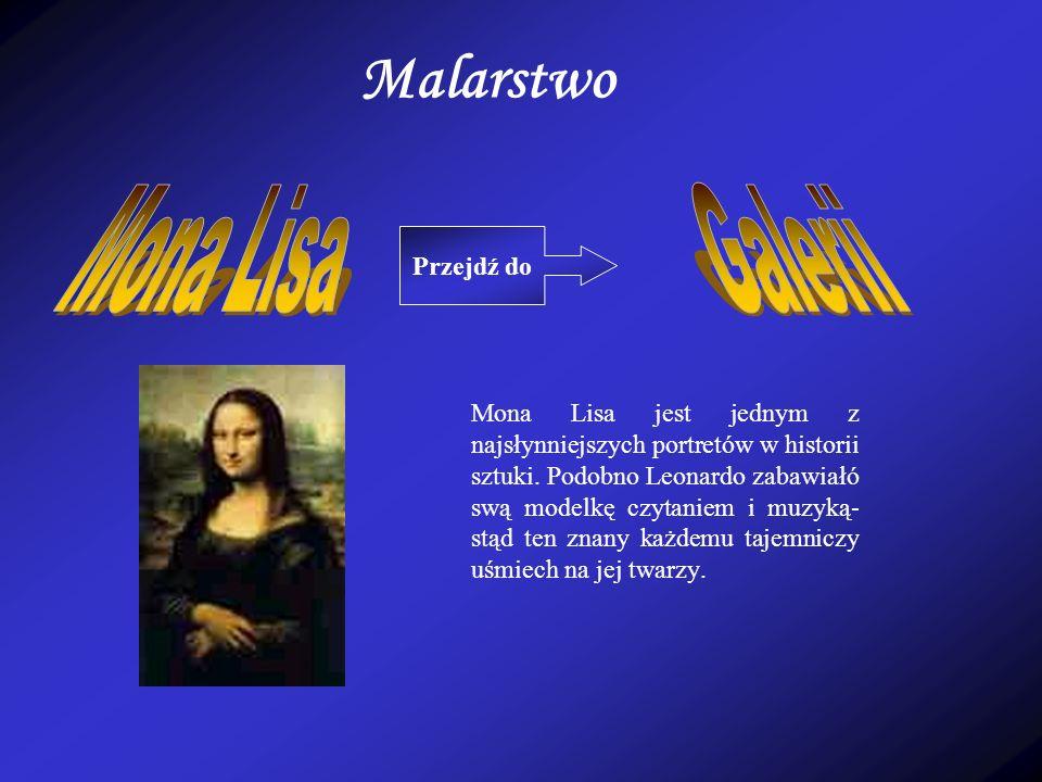 Malarstwo Mona Lisa Galerii Przejdź do