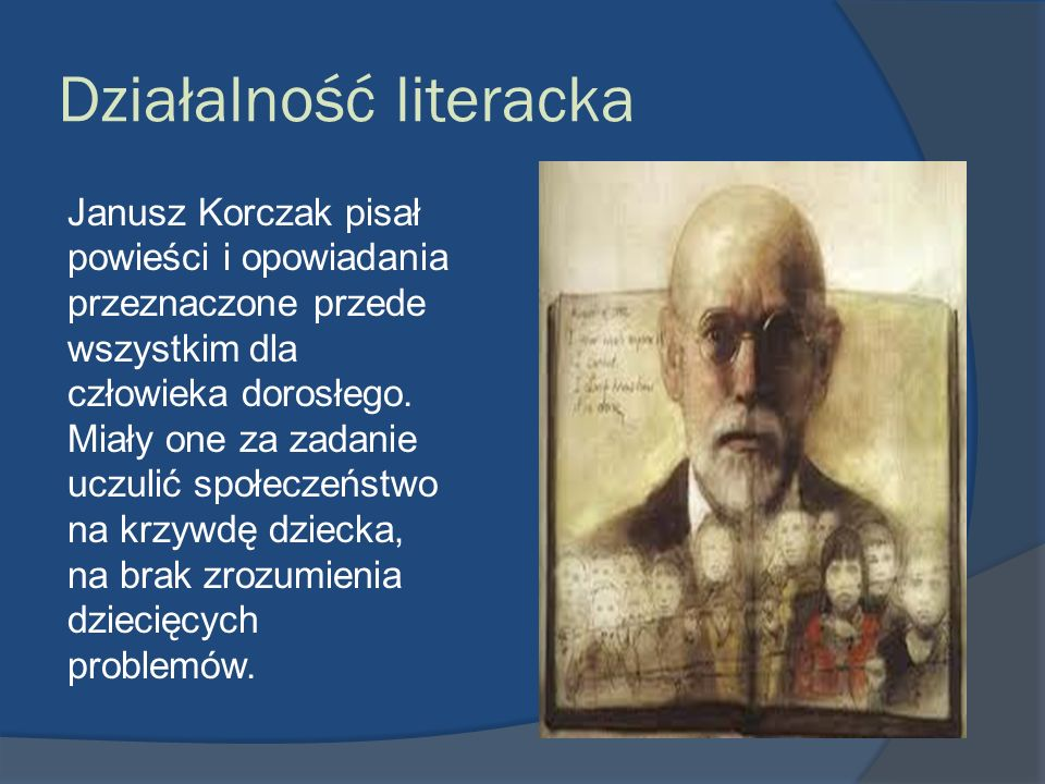 Działalność literacka