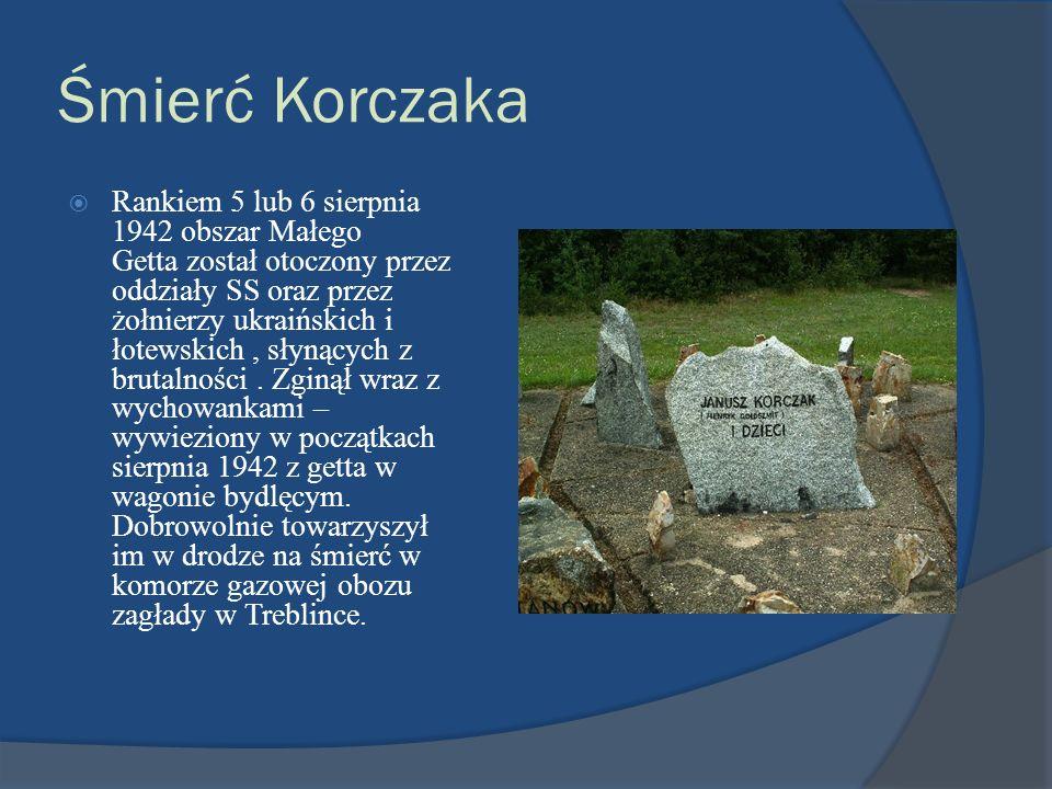 Śmierć Korczaka