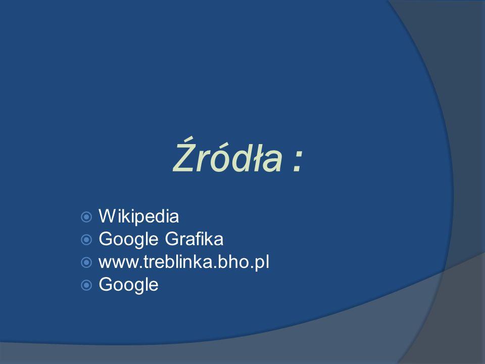 Wikipedia Google Grafika www.treblinka.bho.pl Google