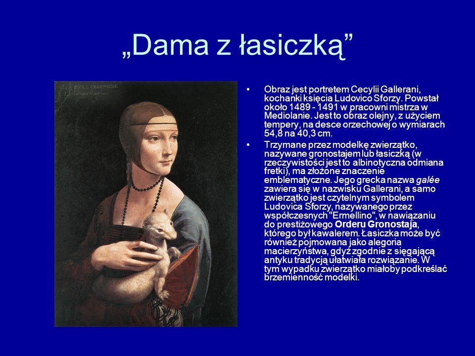 """""""Dama z łasiczką"""