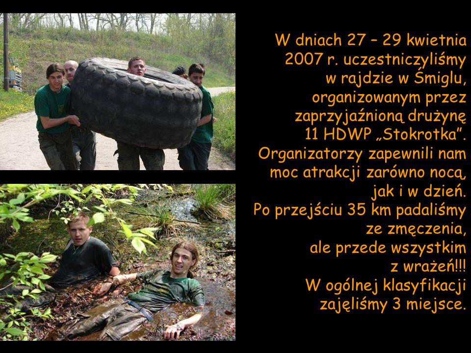 W dniach 27 – 29 kwietnia 2007 r. uczestniczyliśmy