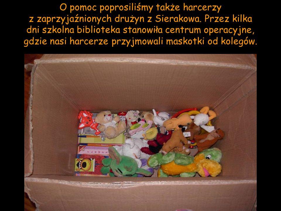 O pomoc poprosiliśmy także harcerzy z zaprzyjaźnionych drużyn z Sierakowa.