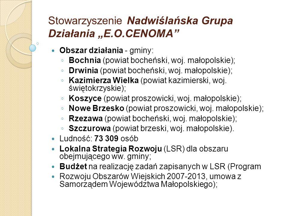 """Stowarzyszenie Nadwiślańska Grupa Działania """"E.O.CENOMA"""