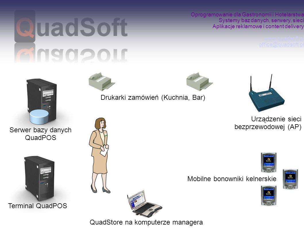 Serwer bazy danych QuadPOS