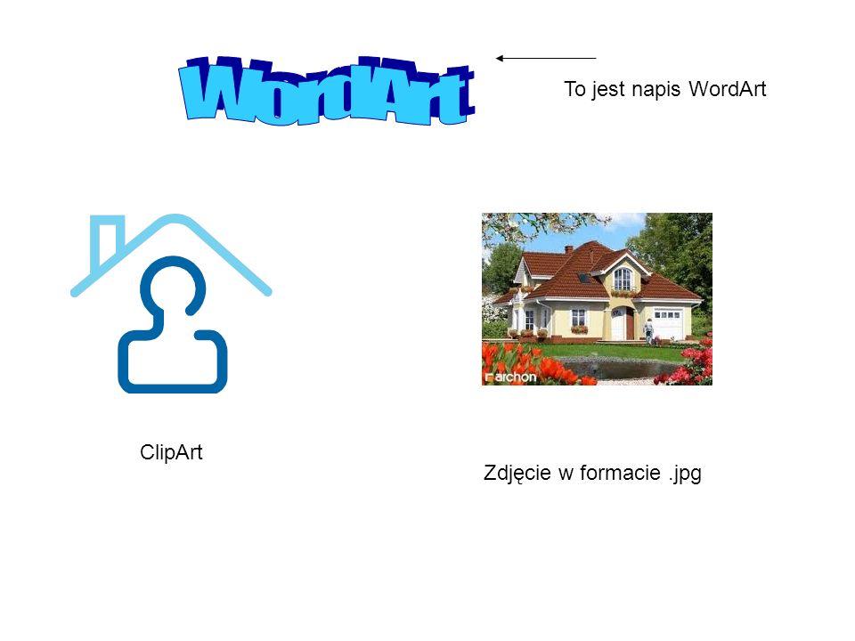 WordArt To jest napis WordArt ClipArt Zdjęcie w formacie .jpg
