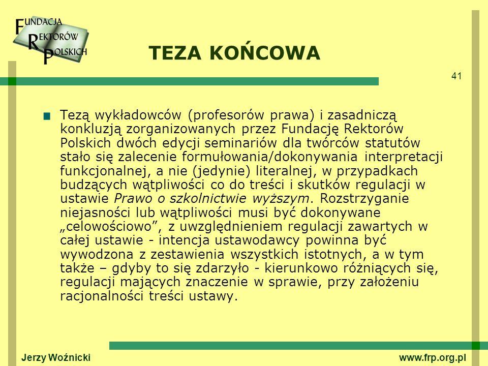 TEZA KOŃCOWA
