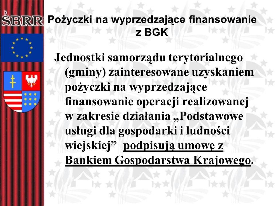 Pożyczki na wyprzedzające finansowanie z BGK