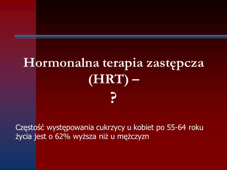 Hormonalna terapia zastępcza (HRT) –
