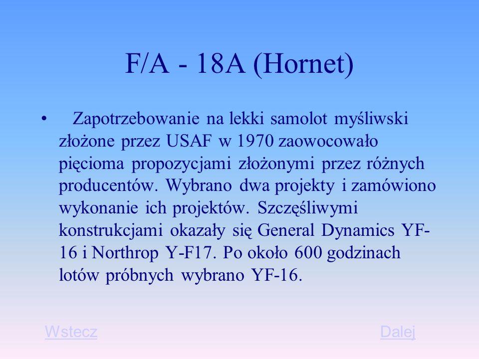F/A - 18A (Hornet)