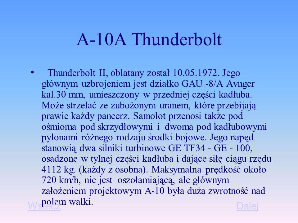 A-10A Thunderbolt