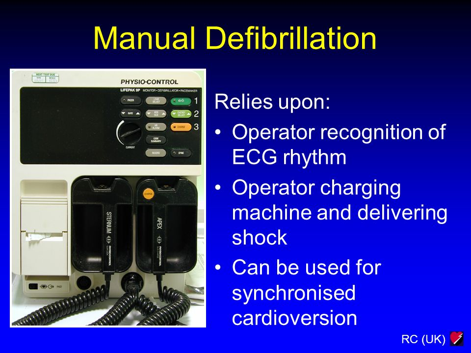 Manual Defibrillation