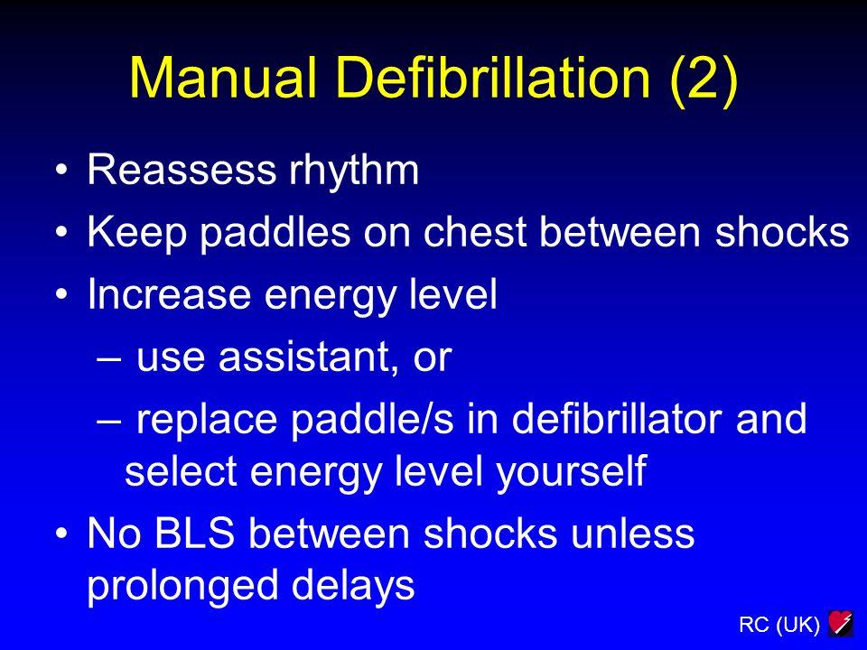 Manual Defibrillation (2)