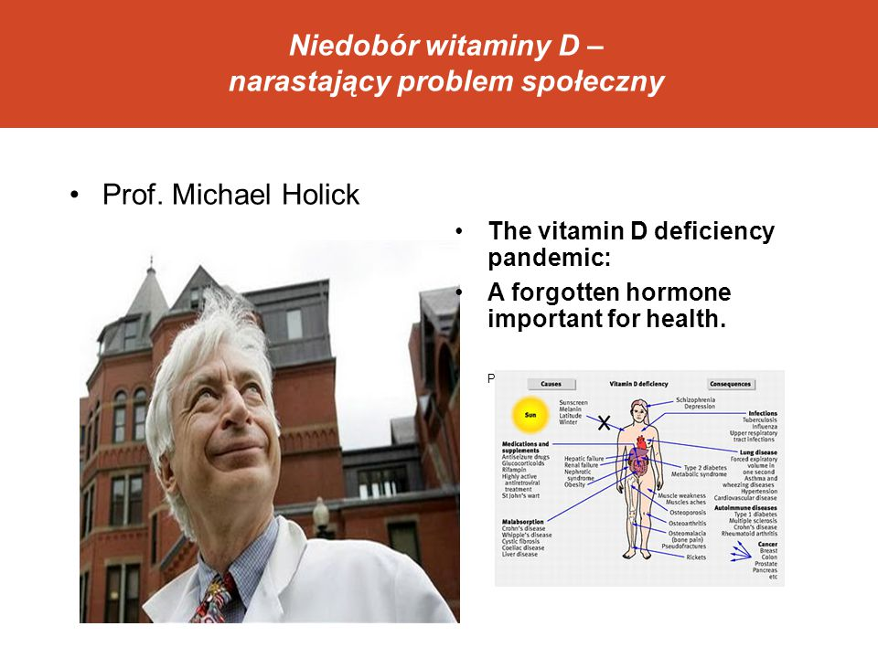 Niedobór witaminy D – narastający problem społeczny