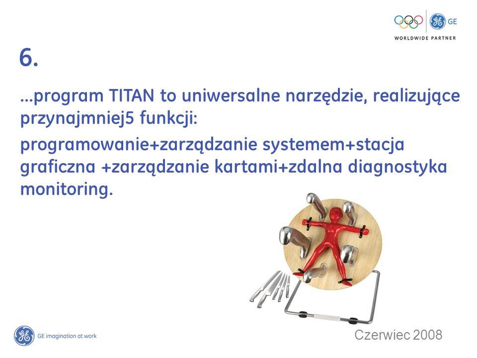 6....program TITAN to uniwersalne narzędzie, realizujące przynajmniej5 funkcji: