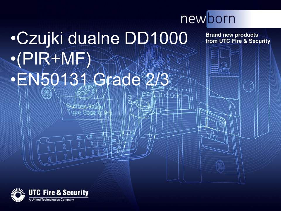 Czujki dualne DD1000 (PIR+MF) EN50131 Grade 2/3