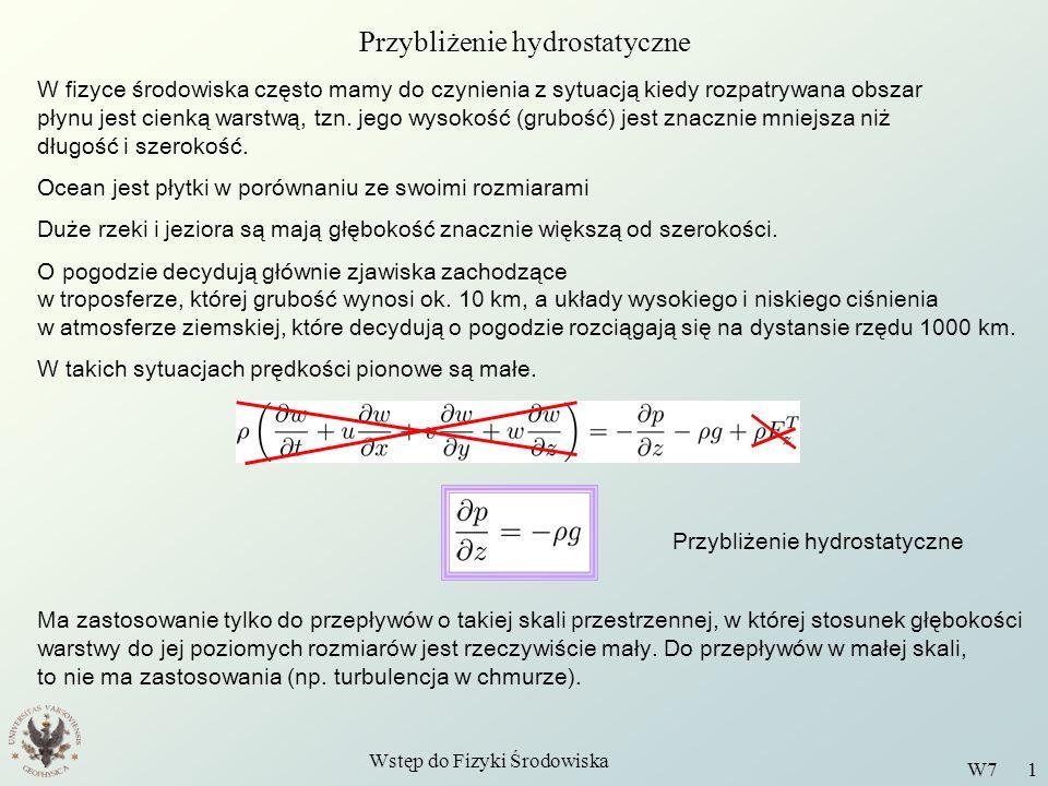 Przybliżenie hydrostatyczne