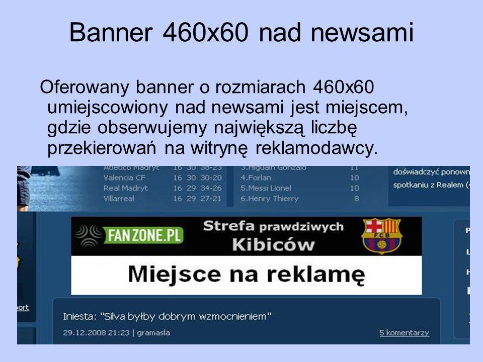 Banner 460x60 nad newsami