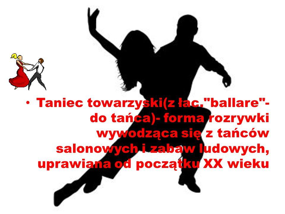 Taniec towarzyski(z łac